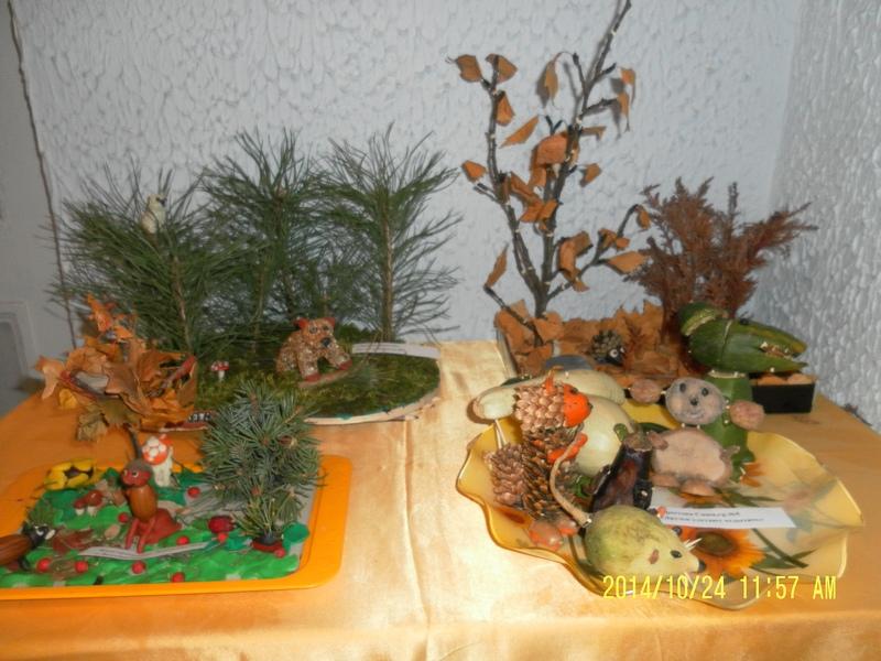 Лес поделка в детский сад 64