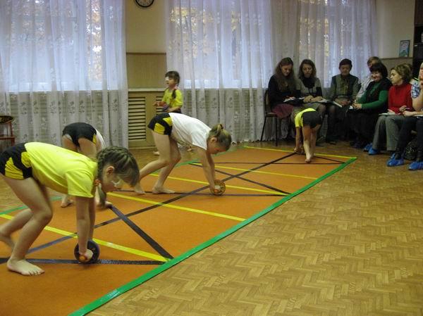 Мастер-класс по физо в доу для родителей