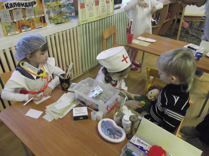 Атрибуты к сюжетно ролевой игре больница своими руками