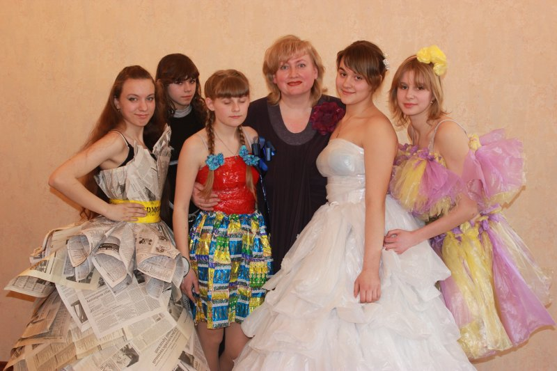Эко мода из отходов в школе - Estamsk.ru